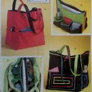 McCall's M4851 Sewing With Nancy 2 Totes with insert Pattern, OS, Uncut