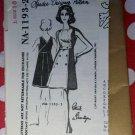 1960s  Designer Patrick de Barentzon Wrap Dress Spadea NA-1193-2 Pattern,  Size 10 Bust 33  FF