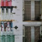 Easy Tab Curtains Simplicity 0740 Pattern , Uncut