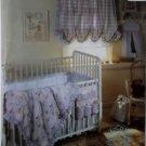 Baby Room, Crib Accessories Comforter McCalls 842 Pattern , Uncut