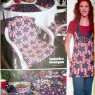 Picnic Hostess Accessories Simplicity 9161 Home Pattern, UNCUT