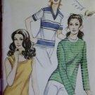 Kwik Sew 304 Misses Knit Top Sewing Pattern, Plus size  14 16 18, Uncut