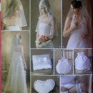 Bridal Accessories and Capelet in 3 sizes Simplicity 4216 Sewing Pattern, Uncut