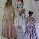 McCalls 4737 Pattern, Misses Dress Gown Size 8, UNCUT