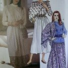 Easy Vintage McCalls 4405 Pattern, Misses' tops, skirt and scarves, Sz 16, UNCUT
