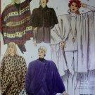 McCalls 5080 Coccon Jacket Caplet Ponchos Pattern, Size 14 16, Uncut