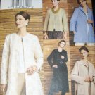 Very Easy Vogue V7714 Pattern, Jacket, Size 14, 16, 18, Bust 36, 38, 40, UNCUT