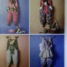 Hanging Bag Holders McCalls Crafts 9668 Pattern, UNCUT