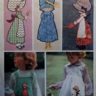 Simplicity 6258 Pattern Transfer for Holly Hobbie Appliques with Embroidery, One Size, Uncut