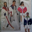 Easy Unisex Mens Misses Workout Jacket Shorts Pants Butterick 5922 Pattern, Sz XS To M, Uncut