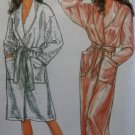 OOP Easy Simplicity 9959 Pattern, Misses Wrap Robe, Sz 8 to 20, Uncut