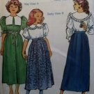 The Children's Corner Patterns  81 Kay, Betty, Skirts and Blouses, Sz 14 16, Uncut