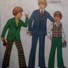1977 Simplicity 8285 Pattern, Boys Jacket Vest Pants, Sz 12 14, UNCUT