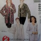 McCalls 6880 Women's Jacket Pattern, Plus Sizes 20/22, 24/26,  UNCUT