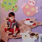 Childs Play Mats Ladybug, Turtle, Lamb, Bear, McCalls M6719 Pattern, Uncut