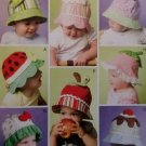 McCalls M46714 Infants' and Toddlers' Hats Pattern,  UNCUT
