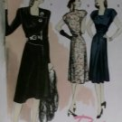 Easy Retro Butterick B5281 Patterns  Misses' Dress, Sizes 6, 8, 10, 12, UNCUT