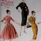 Retro Butterick B 5813 Patterns  Misses' Dresses, Sizes 6, 8, 10, 12, 14, UNCUT
