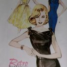 Retro Butterick B 6582 Patterns  Misses' Dresses, Sizes 18, 20, 22, UNCUT