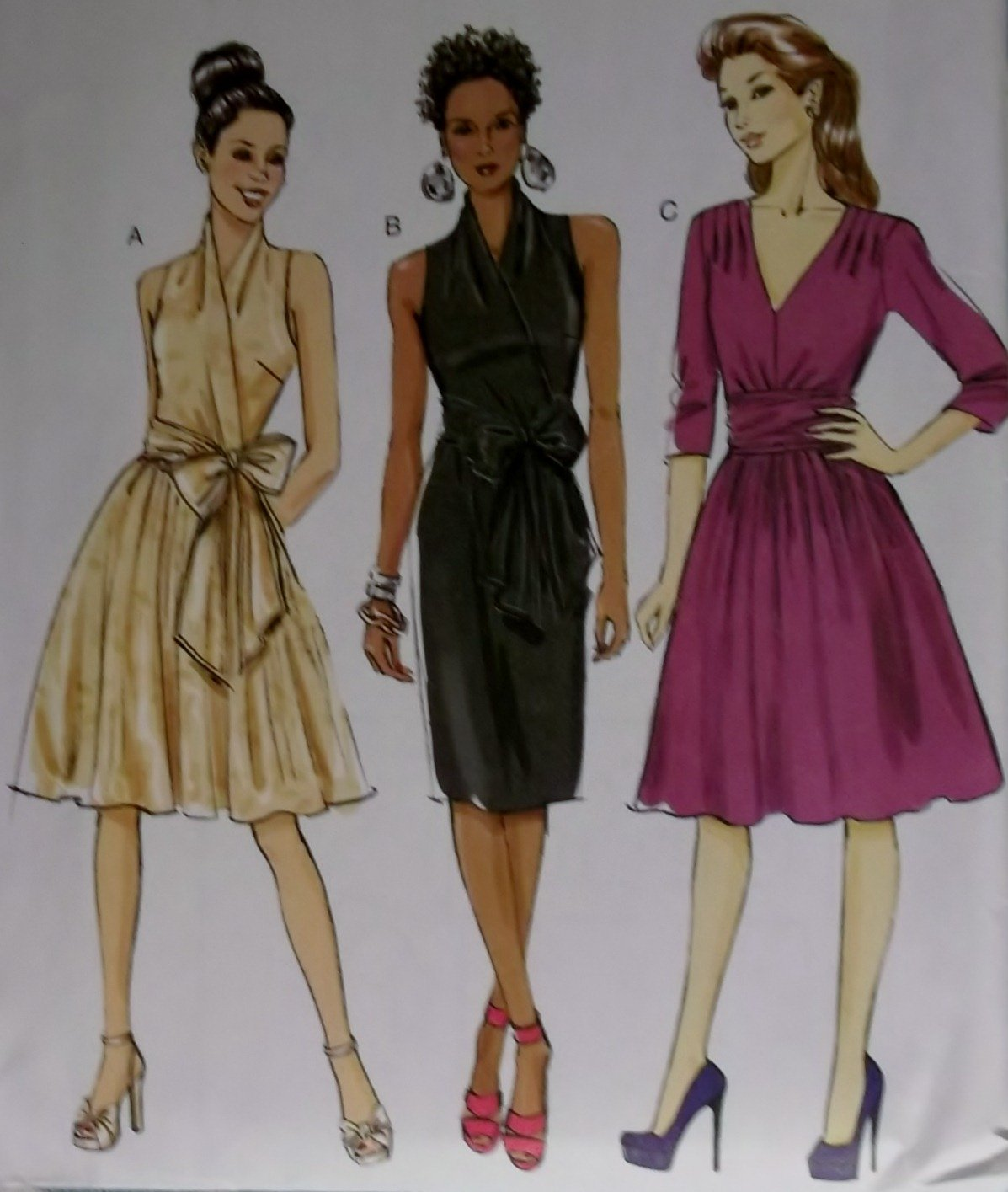 Butterick B 5850 Sewing Pattern, Misses' Dress, Size 8 to 16, UNCUT
