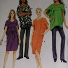 Butterick B 5848 Sewing Pattern, Misses' Top, Dress and Belt, Size 4 to 14, UNCUT