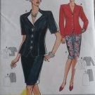 Burda 3766 Jacket and Skirt Suit Pattern, Plus Size 8 10 12 14 18, uncut