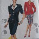 Burda 3766 Jacket and Skirt Suit Pattern, Plus Size 8 10 12 14 18, uncut