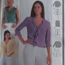 Burda 8806 Blouse Pattern, Plus Size 10 12 14 16 18 20, uncut