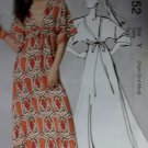 McCalls M6552 Pattern, Misses Long Dress, Size 4 6 8 10 UNCUT