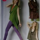 Misses' Tops and Tunic McCalls M 6607 Pattern, Size 8, 10, 12, 14, 16, UNCUT