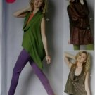 Women's Tops and Tunic McCalls M 6607 Pattern, Plus Sizes 18w to 24w, UNCUT