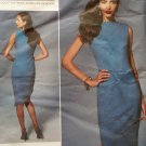 Easy Platt Design Misses Dress Vogue V 1267 Pattern, Plus Size 16-24 UNCUT