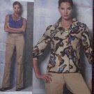 Anne Klein Design Misses Jacket, Top And Pants Vogue V 1167 Pattern, Plus Size 16 - 22 UNCUT