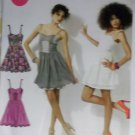 Easy McCalls M6561 Pattern, MIsses or Petite Dress,  Sz 4 6 8 10 12, Bust 29.5 to 34, Uncut