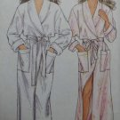 OOP Easy Simplicity 7507 Pattern, Misses Wrap Robe, Sz 8 to 20, Uncut