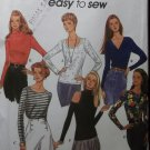 Easy Misses Collection of Tops Simplicity 8740 Pattern, Sz 6 to 16, Uncut