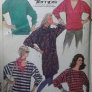 Vintage Easy Misses Loose-Fitting Knit Top Simplicity 7701 Patterns, Sizes 12, 14, 16, UNCUT
