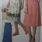 Misses' Jiffy Front-Wrap Skirt knee or maxi length Simplicity 8336 Pattern, Size Small 10-12, UNCUT