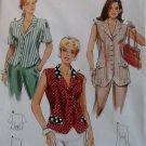 Burda 4283 Sewing Pattern Misses Waistcoat,  Plus Size 8 10 12 14 16 18, Sealed