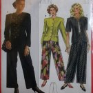Burda 5206 Sewing Pattern Misses Jacket Pants,  Plus Size 10 12 14 16 18 20, Uncut
