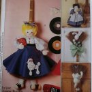 McCalls 8707 Broom Dolls Pattern, Uncut