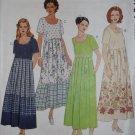 Easy Misses Pullover Dress McCalls 8791 Pattern, Size 12 14, Uncut