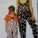Child's Overalls & Romper McCalls 7049 Sewing Pattern, Size 3 4 5 6, Uncut
