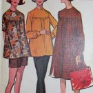 Vintage Maternity Dress  Top  Pants  Shorts McCall's 6995 Sewing Pattern, Sz 18, Uncut