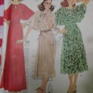 Misses Dress & Slip McCalls 6397 Pattern, Size 12 Bust 34, Uncut