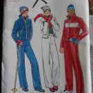 Vintage Misses Ski Jacket Snow Pants Butterick 5686 Sewing Pattern, Size 6 - 8 UNCUT
