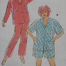 Misses Pajamas  Kwik Sew Pattern 2238,  XS, S, M, L, XL, Uncut