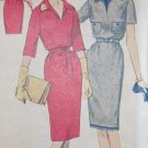60s Simplicity 3644 Dress with collar and sleeve variation, Jr Girls Size 11, UNCUT