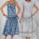 Easy Misses Pullover Dress Butterick 3813 Pattern, Size 6 8 10, Uncut