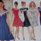 Easy Misses or Petite Dress Butterick  3847 Pattern, Plus sz 14, 16, 18, Uncut